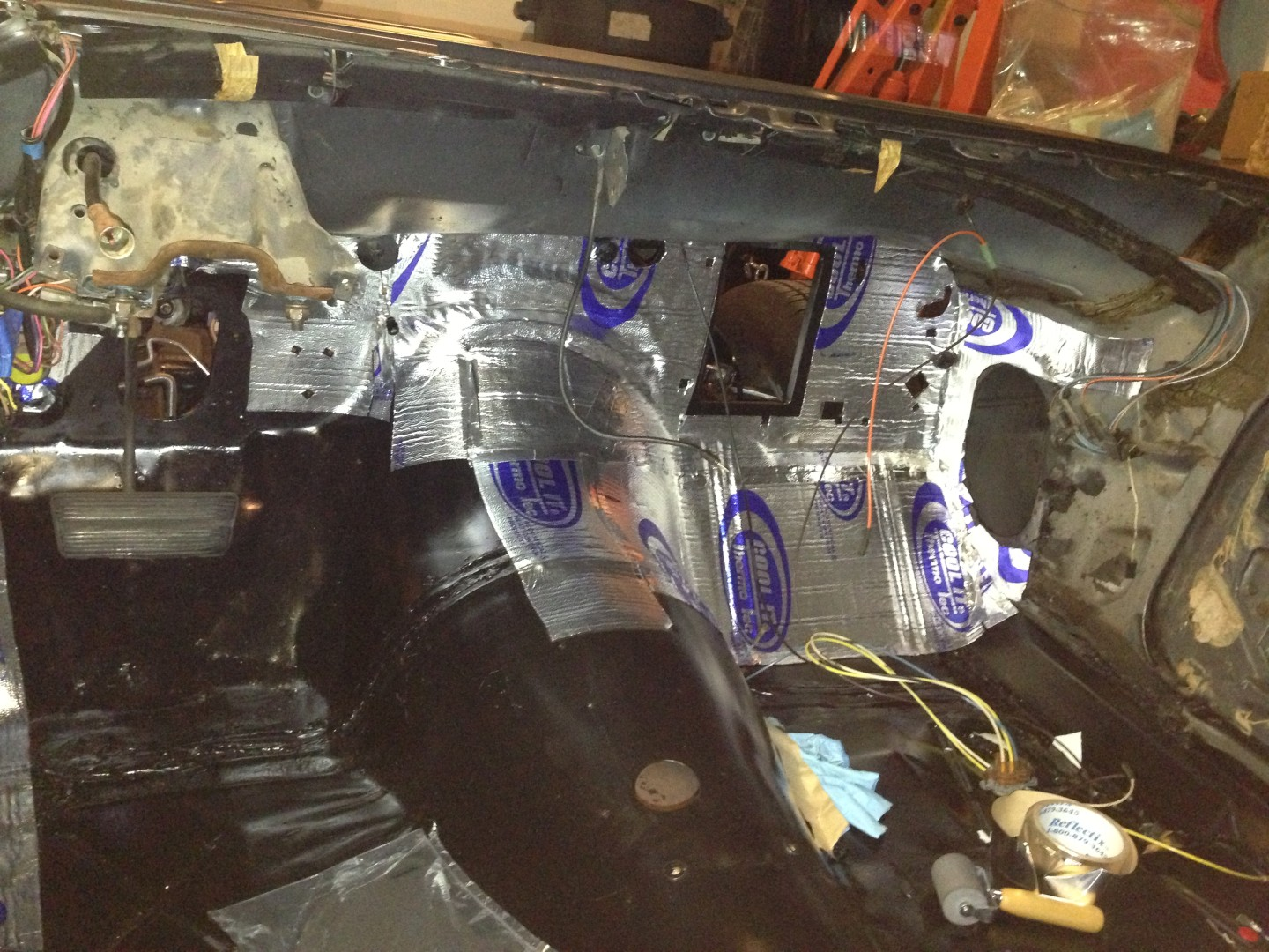 Project Trans Am For November 2012 Gas Tank Rear Tail