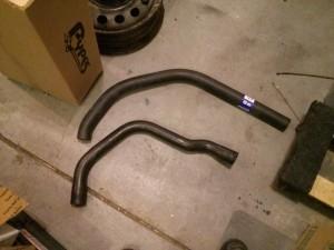 301 Turbo vs Pontiac cut to length upper hoses