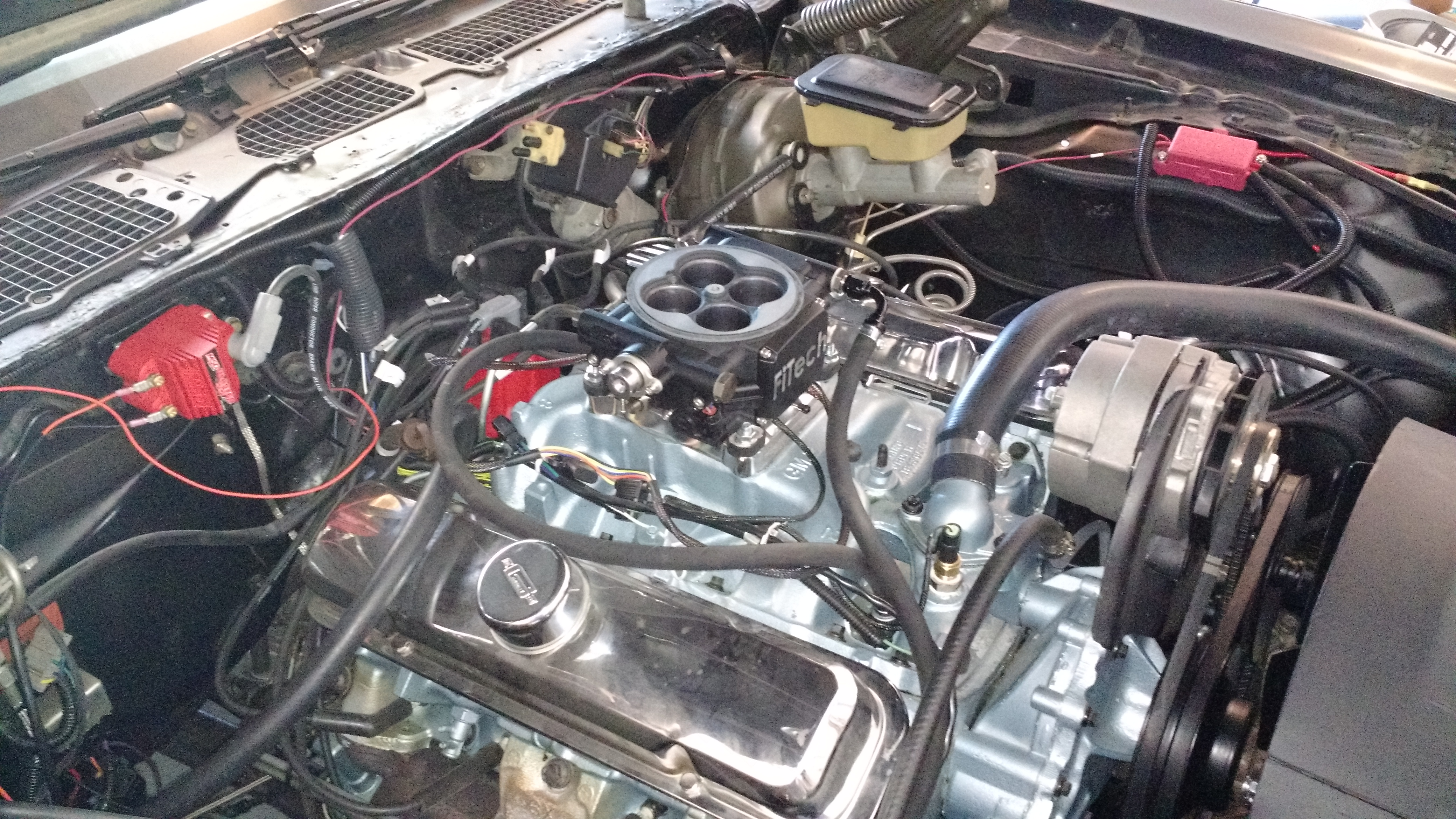 Fitech Throttle Body Go Efi 4 Installed In Project Trans Am Mods 79 403 Engine Wiring Diagram