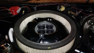 FiTech and W72 Air Cleaner